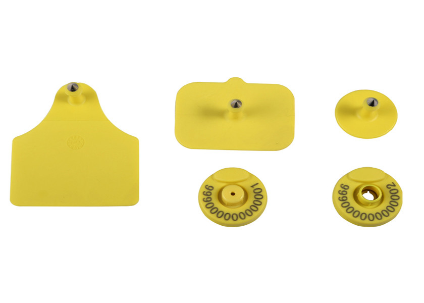 ICAR Approved Electronic Ear Tags For Cattle 134.2khz For Livestock Management