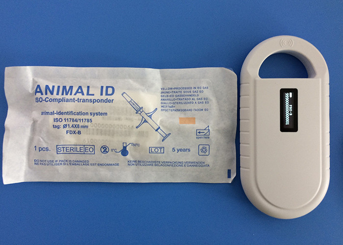 Radio Frequency Identification Animal ID Microchips 134.2Khz With Mini Size